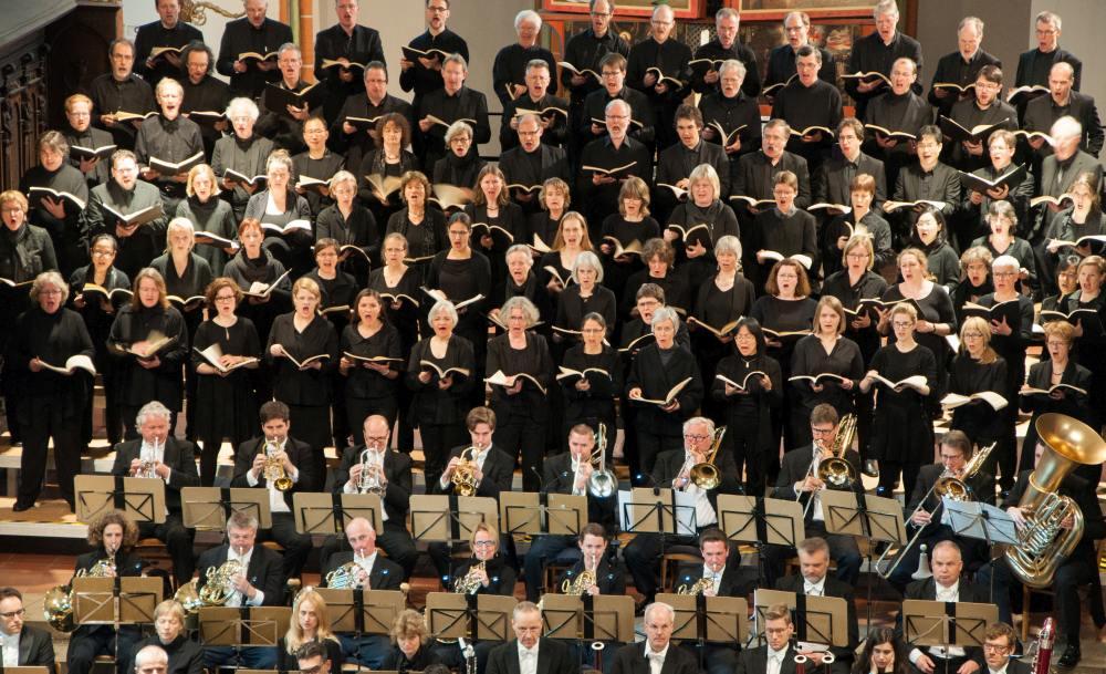 01 Konzert der Lukaspassion von Penderecki in St. Johannis Lüneburg. Bild ' Ulf Pankoke, VISION KIRCHENMUSIK