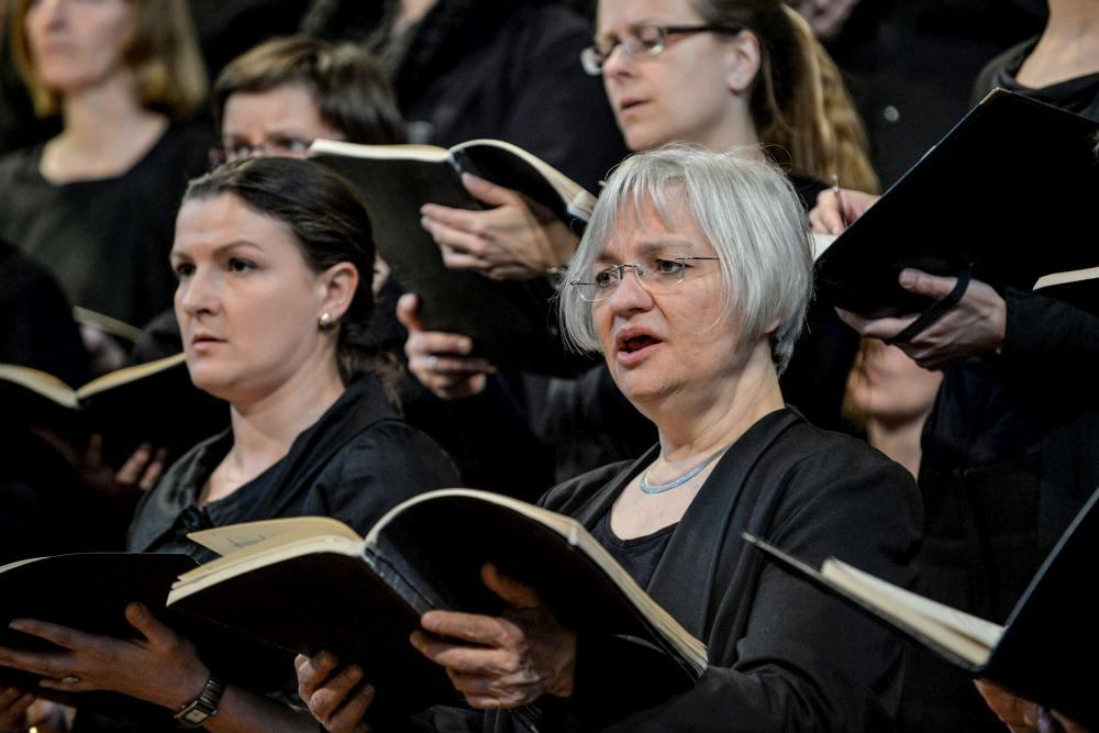 02 Konzert der Lukaspassion von Penderecki in der Marktkirche Hannover. Bild ' Jens Schulze, Landeskirche Hannovers