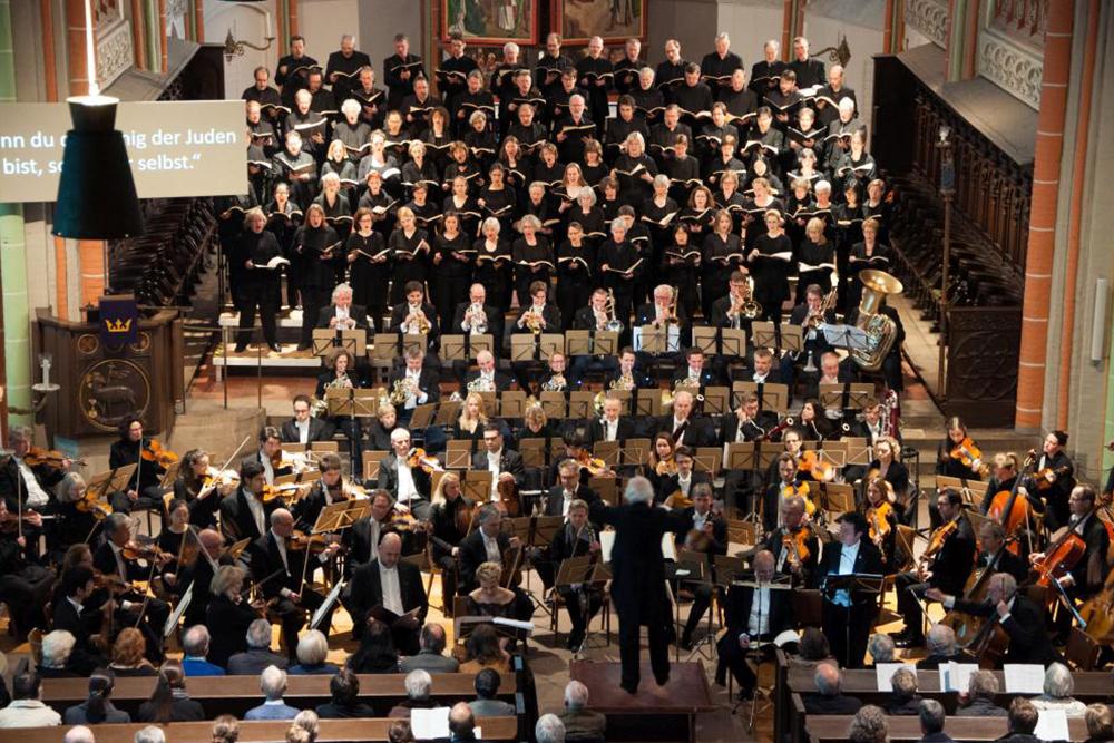 03 Konzert der Lukaspassion von Penderecki in St. Johannis Lüneburg. Bild ' Ulf Pankoke, VISION KIRCHENMUSIK
