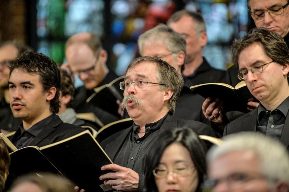 05 Konzert der Lukaspassion von Penderecki in der Marktkirche Hannover. Bild ' Jens Schulze, Landeskirche Hannovers