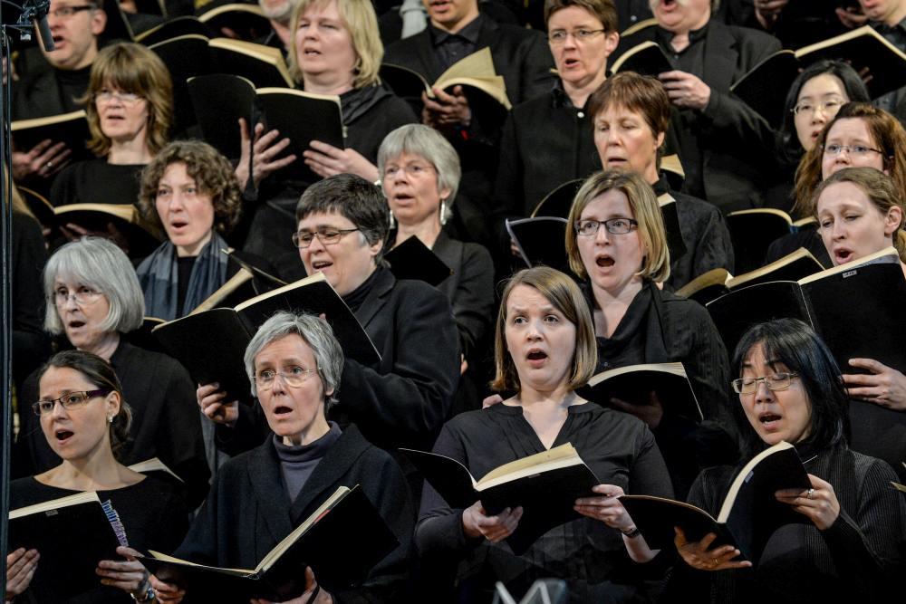 11 Konzert der Lukaspassion von Penderecki in der Marktkirche Hannover. Bild ' Jens Schulze, Landeskirche Hannovers